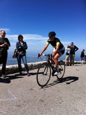 Le test de sélection du BPJEPS Activités du Cyclisme