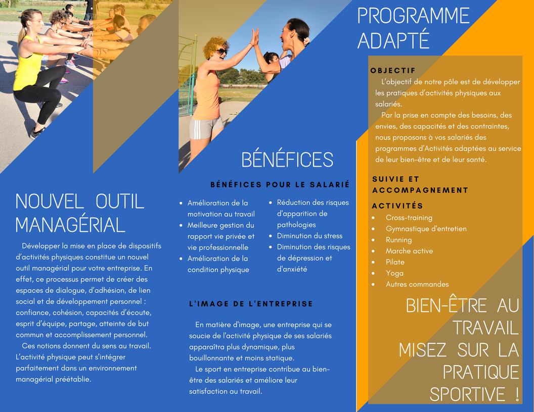 Les solutions pour développer le sport en entreprise Aix-en-Provence ... 213dde080bac